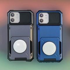 갤럭시S21(G991) Tank_Tok 스마트 그립톡 카드 범퍼