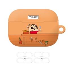 짱구 큐티컬러 에어팟 프로 케이스+철가루 방지 스티커