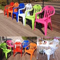 국산 고급2단 대형 우산형 파라솔_팔걸의 의자 4개세트(6색)