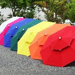 국산 고급2단 대형 우산형 파라솔풀세트_(파라솔+테이블+팔걸의의자)