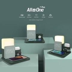 애플 삼성 워치 올인원 LED 무선충전기 AL3IN1 PLUS