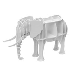 DIY 코끼리 동물모형 선반 책장 인테리어 책진열장