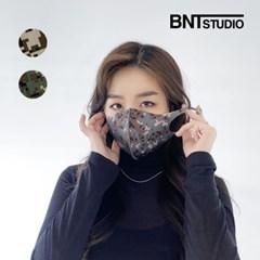 [비엔티스튜디오] 연예인 3D 밀리터리 디지털 패션마스크 2color