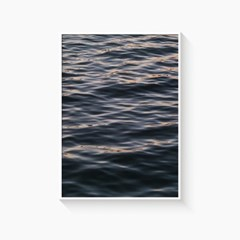 바다 풍경 그림 일러스트 인테리어 포스터 액자_물결