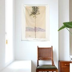 인테리어 패브릭 포스터_에곤쉴레 작은나무