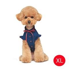 강아지 메리미 블라우스 네이비 XL
