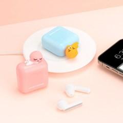 카카오 K1 TWS 블루투스 이어폰(어피치)