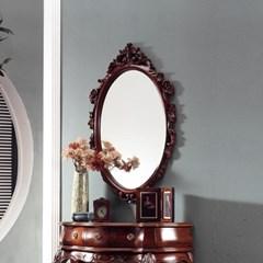 수입 엔틱가구 TR 32 장미 엔틱 컬러 벽걸이 거울