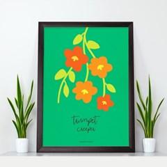 체리블라썸 벚꽃 A4 아트포스터 2P세트
