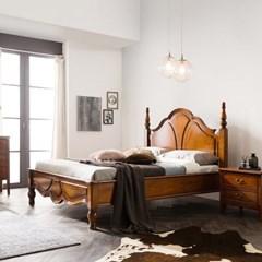 수입 엔틱가구 RG 38 프리미엄 엔틱 컬러 퀸 침대 프레