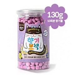 동글동글 고양이 향기묘책 130g (보라색)_(764493)