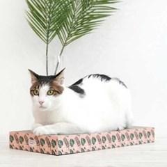 핑크네이쳐 고양이 사각 스크래쳐_(764516)