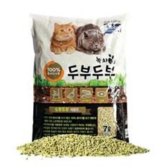 녹차 타비 두부두부 고양이 모래 7L_(764544)