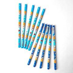 문화연필 해피트래블 B연필 10개입