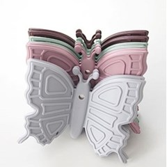 실리콘 나비 냄비 손잡이 2p 한세트 4color