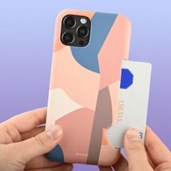 모던 패턴 하드 카드수납 카드슬림 케이스 갤럭시 아이폰 케이스