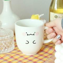 귀여운 익명이 머그컵 시즌2 [예쁜 캐릭터 도자기 홈카페 머그잔 컵]
