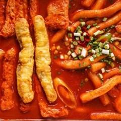 에어프라이어 떡볶이 편의점 분식집 매점 안주 오징어 튀김
