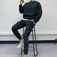 봄 상하세트 루즈핏 포켓 맨투맨 트레이닝 카고 조거팬츠
