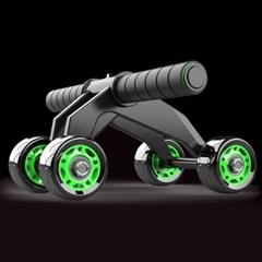 4륜 프로 휠 슬라이드 코어운동 복근운동기구