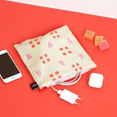 [L pouch] spring pink