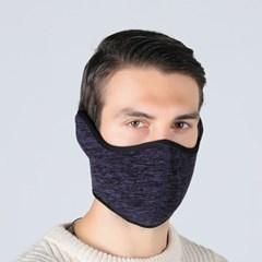플리스 귀마개 방한 마스크(네이비)