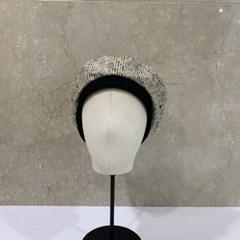 블랙 그린 꾸안꾸 데일리 패션 베레모 모자