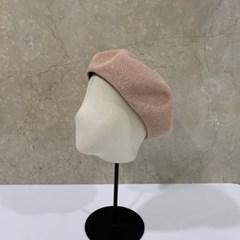 무지 기본 심플 데일리 패션 꾸안꾸 베레모 모자