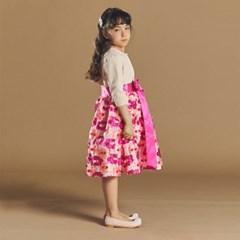 퍼키 블루밍 오리엔탈 드레스 여아 아동 키즈 원피스