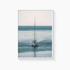 바다 풍경 그림 일러스트 인테리어 포스터 액자_sail