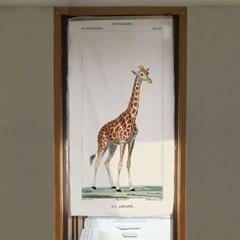 인테리어 패브릭 포스터_기린(DOOR형)