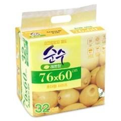 순수 강아지 논슬립 초대형패드32매X6개_(766977)