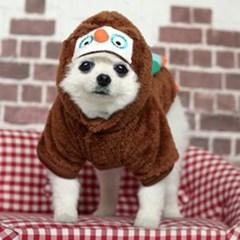 강아지 캐릭터 후드점퍼(부엉이)_(765846)