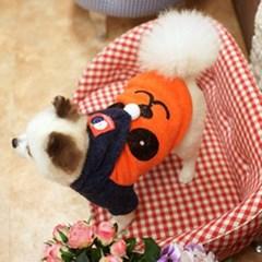 강아지팬더 니트후드티(오렌지)L_(765898)