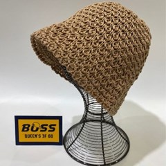 뜨개 꾸안꾸 데일리 챙넓은 패션 버킷햇 벙거지 모자