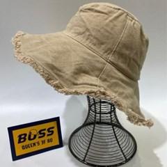 올풀림 챙넓은 꾸안꾸 데일리 버킷햇 벙거지 모자