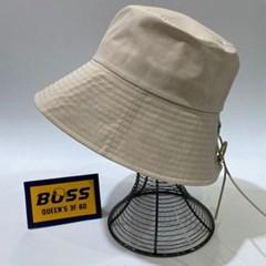 리본 코르셋 챙넓은 꾸안꾸 패션 버킷햇 벙거지 모자