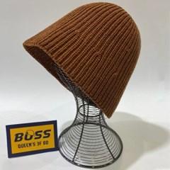숏챙 뜨개 기본 데일리 패션 버킷햇 벙거지 모자