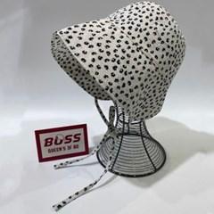 꽃무늬 땡떙이 플라워 턱끈 보넷 버킷햇 벙거지 모자