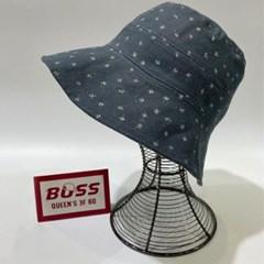 꽃무늬 플라워 챙넓은 꾸안꾸 버킷햇 벙거지 모자