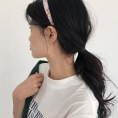 1.5cm 미아미고 트위드 헤어밴드 8colors / 자체제작