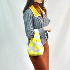 Hwajung Handbag-Yellow Dot