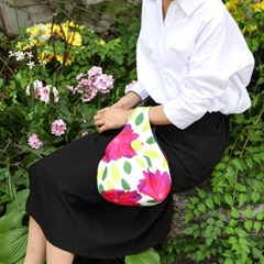 Hwajung Handbag-Plum Flower