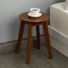 예다움 모던 원형 원목스툴 협탁 의자 스톨_(1829208)