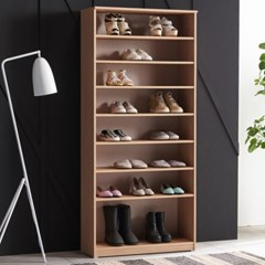 [에띠안]하프 LPM 800 현관 키큰 1800 오픈형 베란다 신발장 수납장