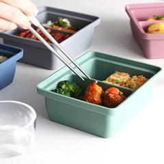 실리콘 다용도 냉동용기 (냉장냉동용기, 식재료보관 소분용기) ver.2