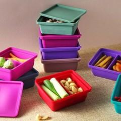 실리콘 다용도 냉동용기 (냉장냉동용기, 소분용기, 밥팩) ver.1