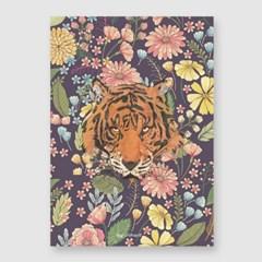 꽃호랑이 A3 포스터
