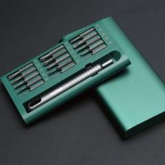 알루미늄 합금 마그네틱 정밀 드라이버 30비트 세트
