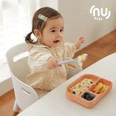 이누이베베 톰톰 실리콘 흡착식판 1EA 자기주도식 유아식판